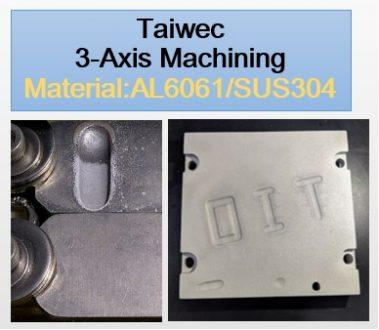 Taiwec 3-Axis Machining